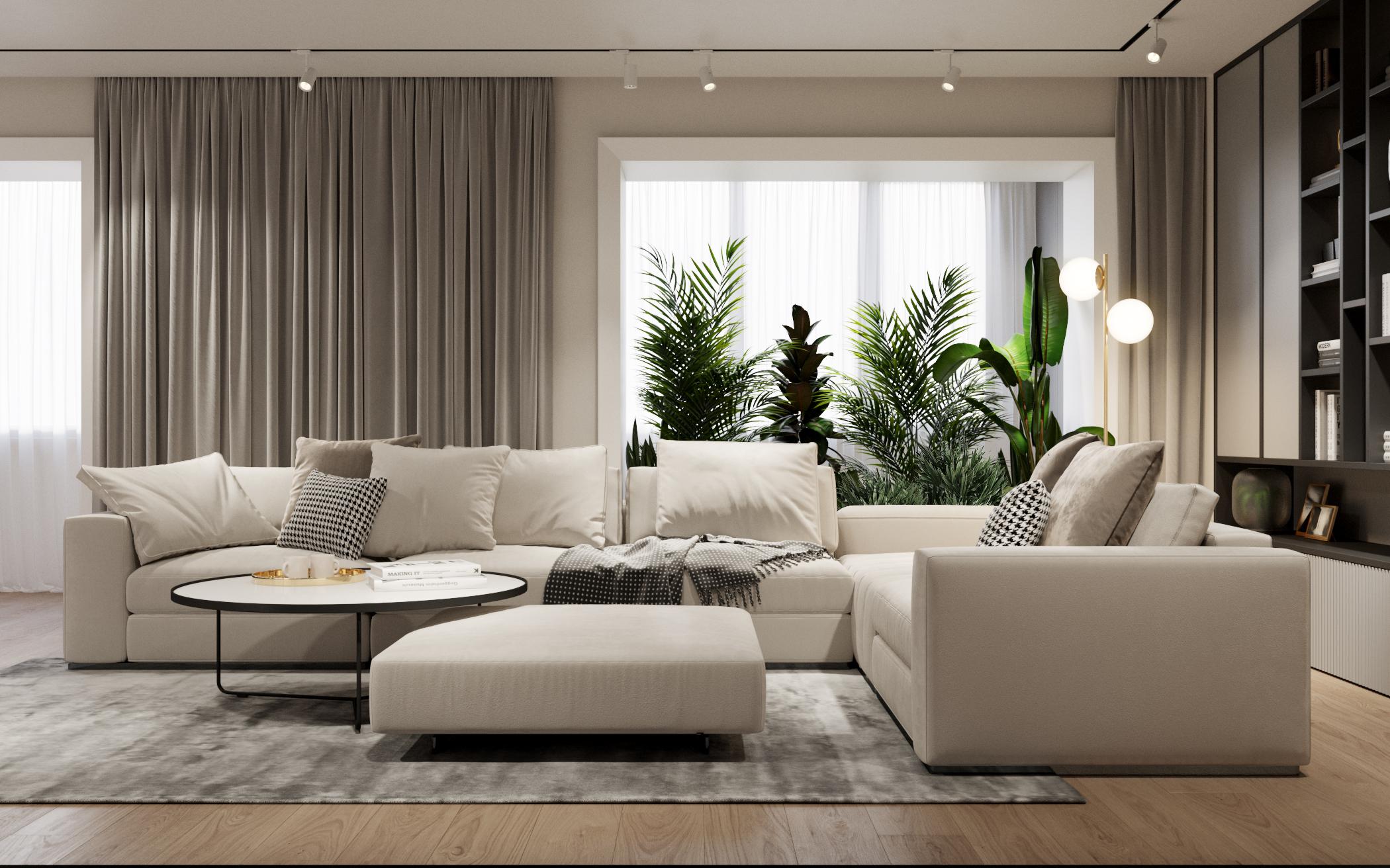 Gray apartament